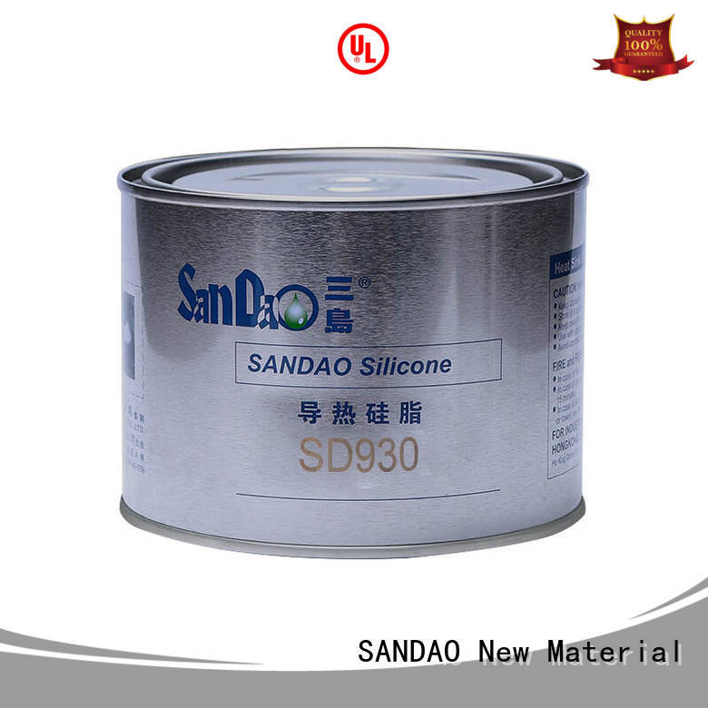 SANDAO quality Thermal conductive material TDS producer for induction cooker
