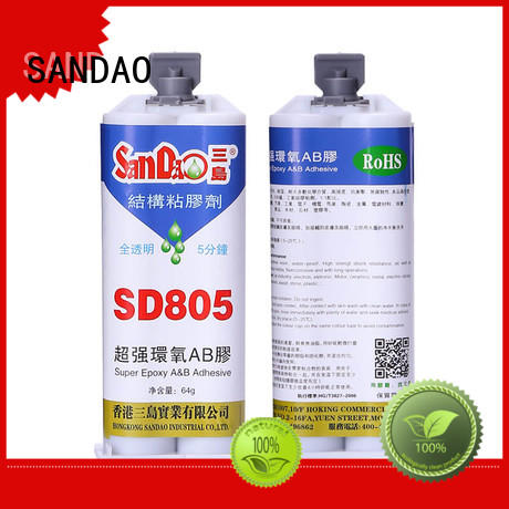 SANDAO inexpensive epoxy resin sealant bulk production for TV power amplifier tube