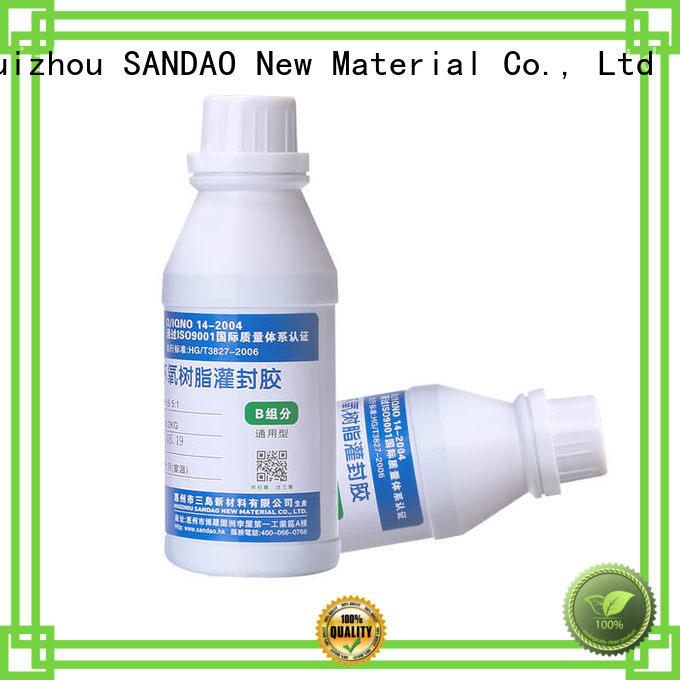 SANDAO heatconductive Two-component addition-type potting adhesive TDS producer for glass parts