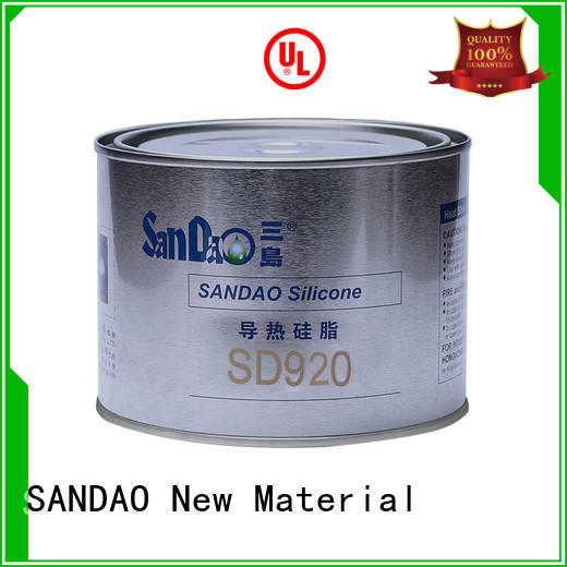 SANDAO Thermal conductive material TDS order now for induction cooker