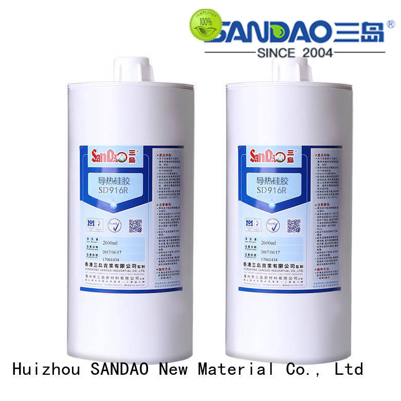 SANDAO effective rtv silicone rubber  manufacturer for screws
