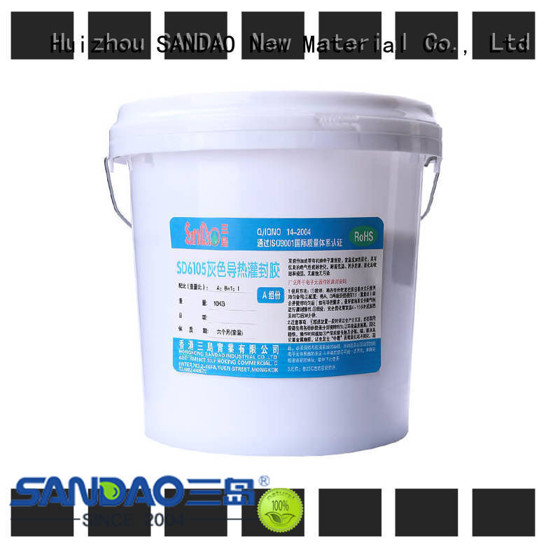 SANDAO high-quality Two-component addition-type potting adhesive TDS producer for metalparts