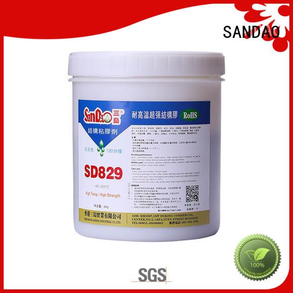 SANDAO popular best epoxy glue resin for TV power amplifier tube