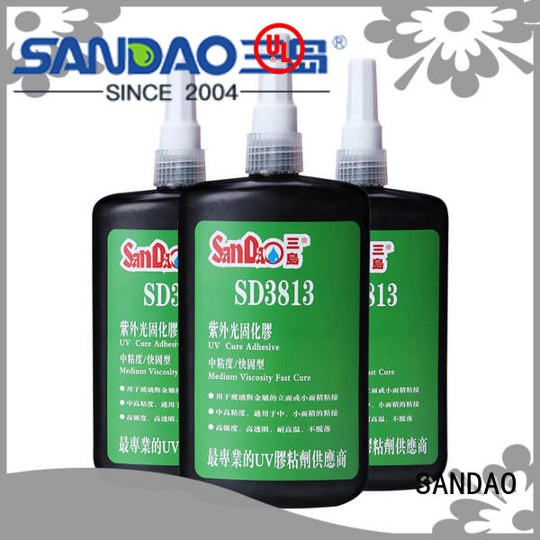SD3813UV  Glass & metal UV adhesive