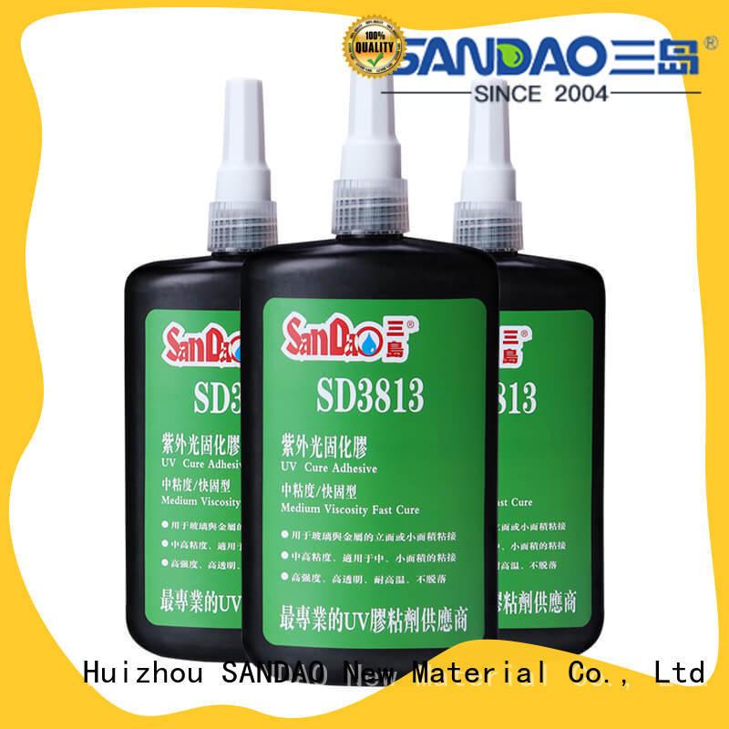 SD3813UV  Glass & metal UV adhesive