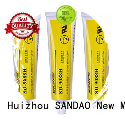 hot-sale rtv silicone rubber yellow factory for converter