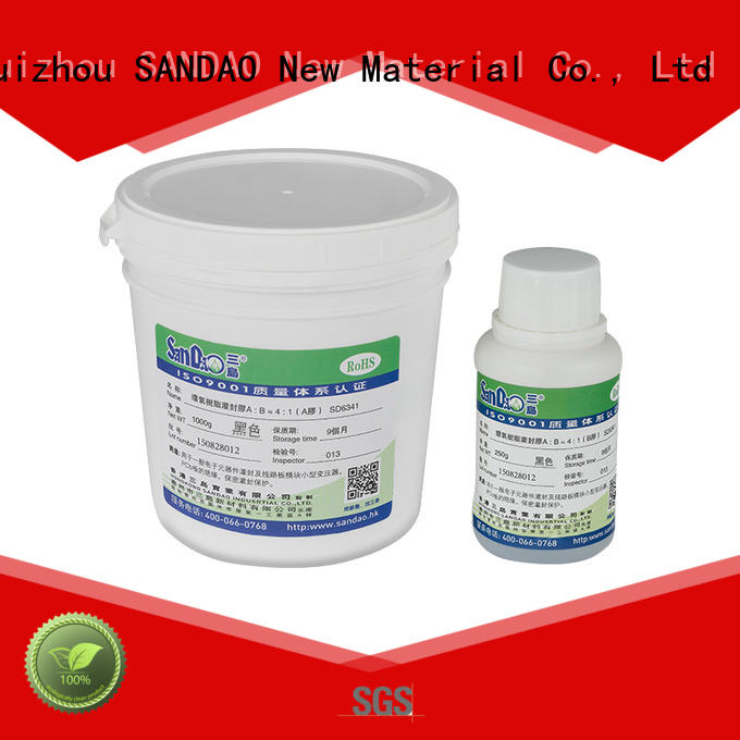 Two-component addition-type potting adhesive TDS resin supplier for electronic parts
