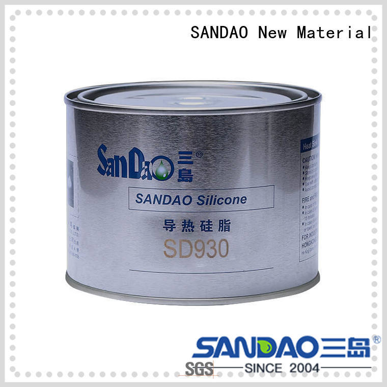 SANDAO high-quality Thermal conductive material TDS from manufacturer for heat sink