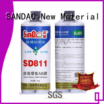 SANDAO Two-component epoxy structure bonding factory price for TV power amplifier tube