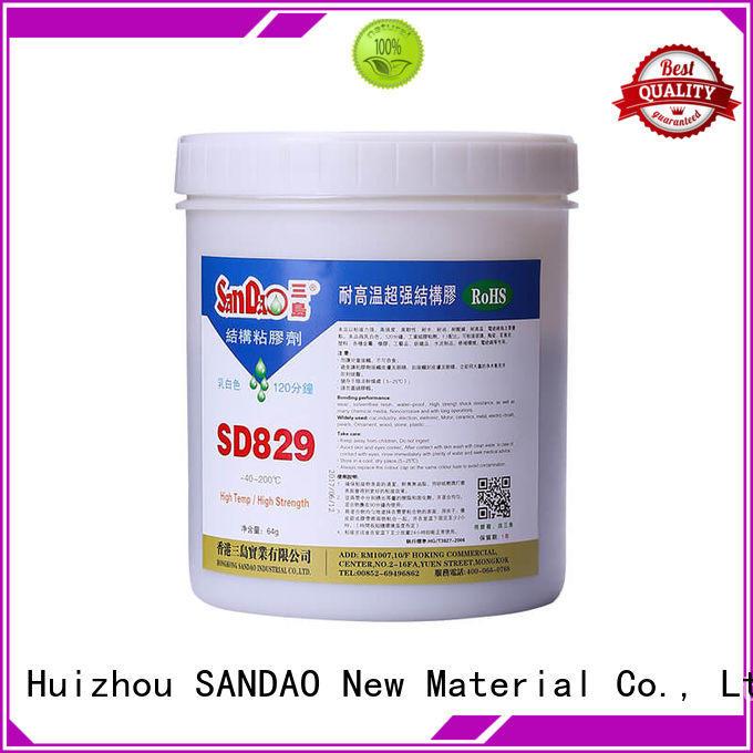 SANDAO epoxy epoxy resin bulk production for screws