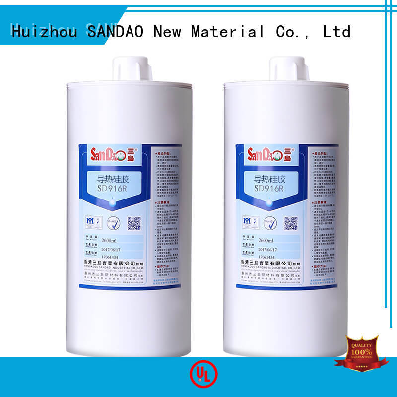 SANDAO new-arrival rtv silicone rubber supply for substrate