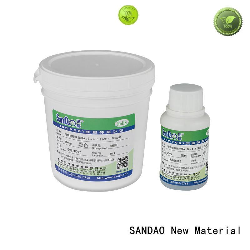 SANDAO ge rtv silicone potting for metalparts