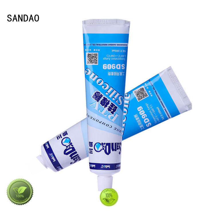 SANDAO onecomponent One-component RTV silicone rubber TDS producer for screws