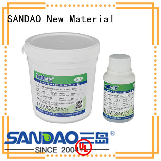 SANDAO potting Two-component addition-type potting adhesive TDS supplier for electroplating