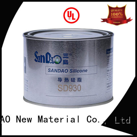 SANDAO conductive Thermal conductive material TDS  supply for heat sink