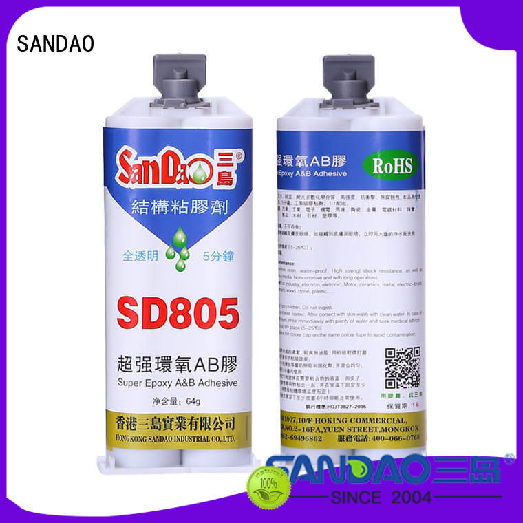 epoxy resin glue transparent for Semiconductor refrigeration SANDAO