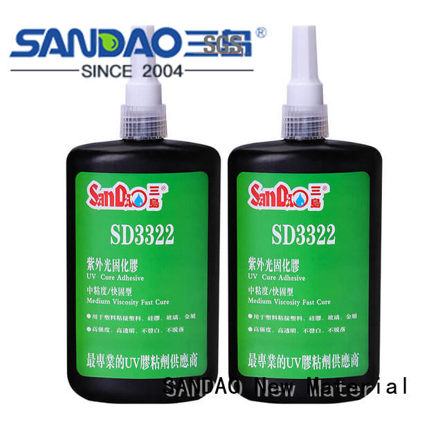 good-package uv bonding glue adhesive from manufacturer for fixing products