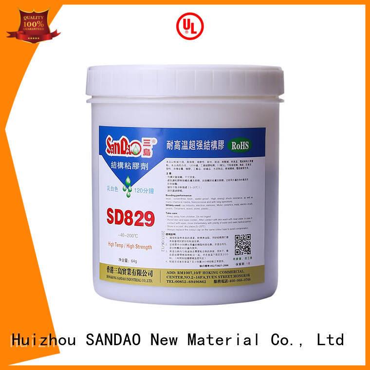 SANDAO inexpensive epoxy adhesive bulk production for TV power amplifier tube