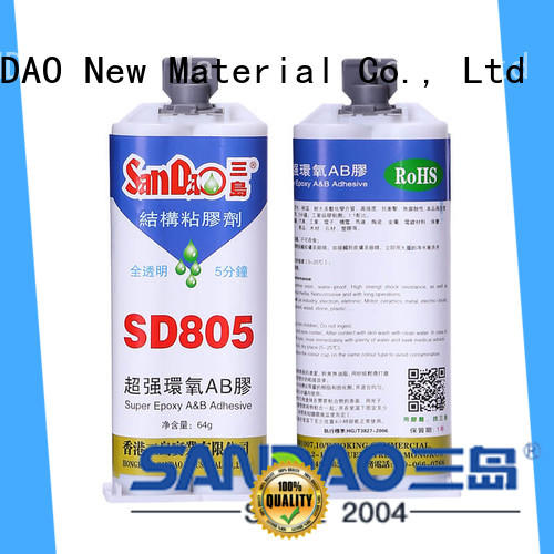SANDAO drying 2 part epoxy adhesive from manufacturer for coffee pot gap filling
