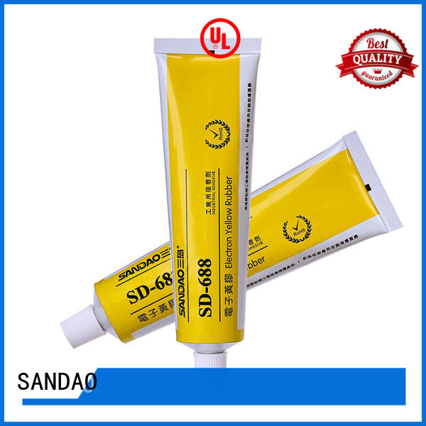 SANDAO rtv silicone rubber certifications for substrate