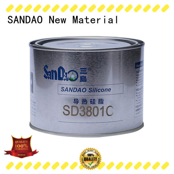SANDAO newly rtv silicone rubber producer for screws