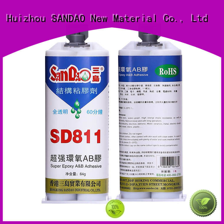 SANDAO good-package epoxy adhesive factory price for TV power amplifier tube