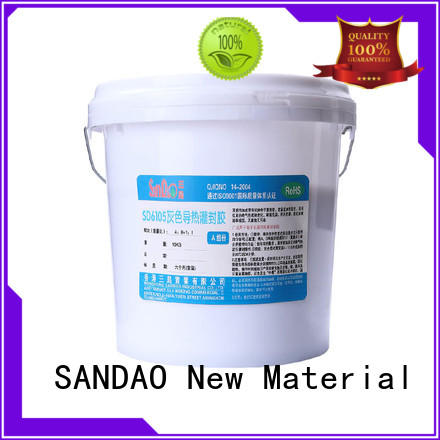 SANDAO awesome ge rtv silicone resin for ceramic parts