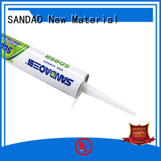 SANDAO newly MS adhesive series effectively for screws