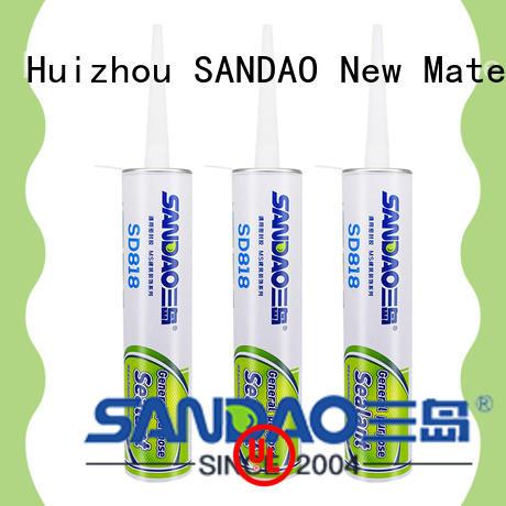 antibacterial building ms polymer adhesive sealant SANDAO company