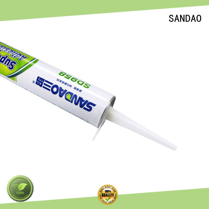 SANDAO general ms polymer adhesive widely-use for screws