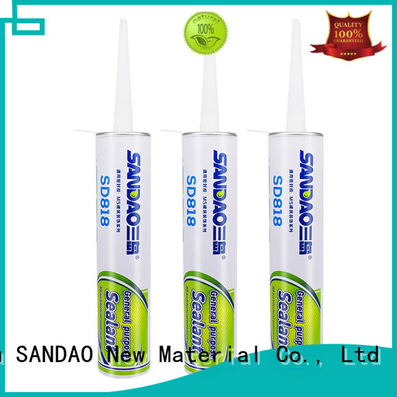 SANDAO antibacterial MS adhesive series effectively for fixing products