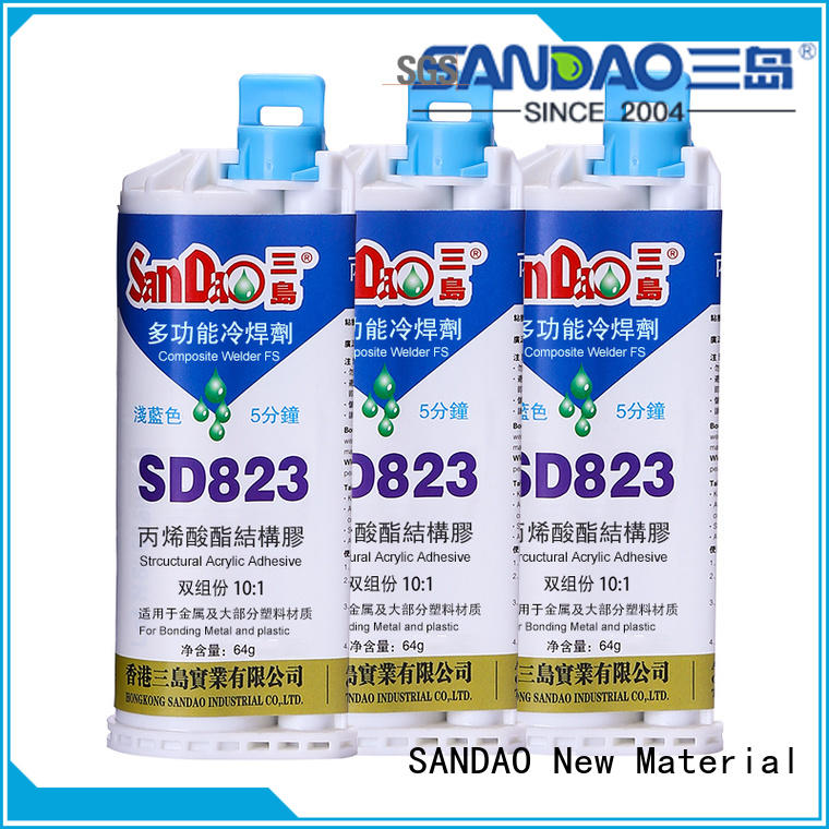 SANDAO structural Two-component epoxy structure bonding from manufacturer for heat sink