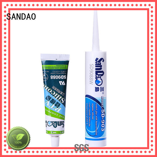SANDAO flameretardant One-component RTV silicone rubber TDS for electronic products
