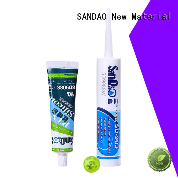 effective One-component RTV silicone rubber TDS printed supply for screws