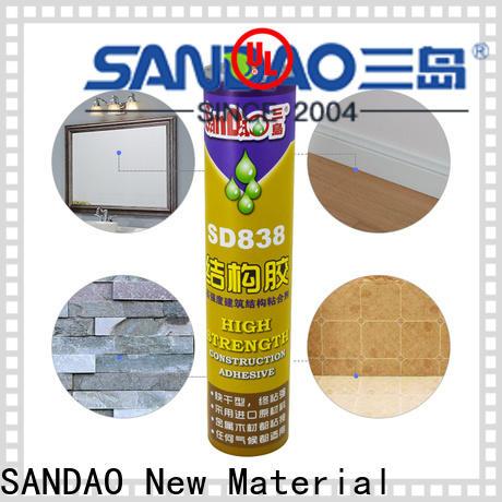SANDAO nail free adhesive supply for screws