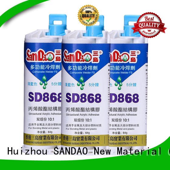 SANDAO resin 2 part epoxy adhesive for TV power amplifier tube