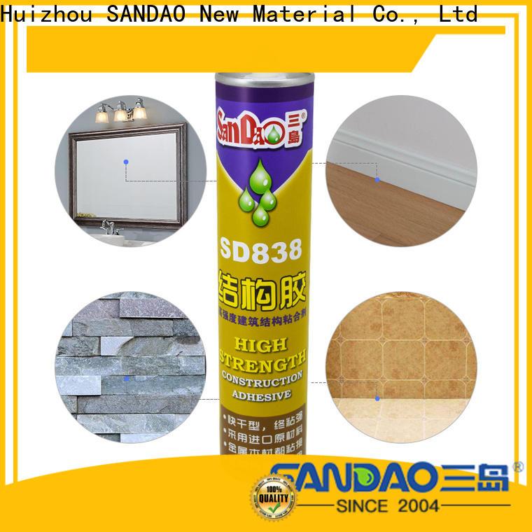 SANDAO reliable modified silane nail free adhesive producer corrosion resistance