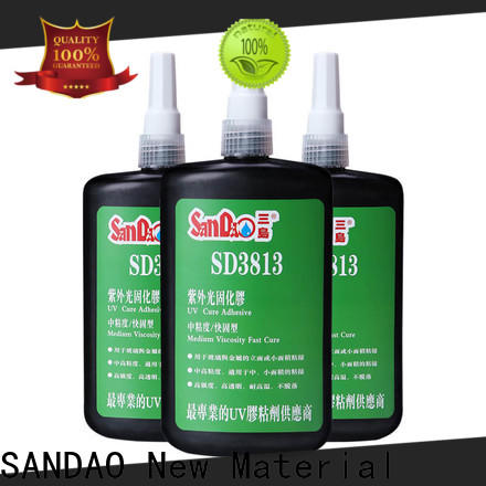 SANDAO first-rate uv bonding glue for wholesale for screws