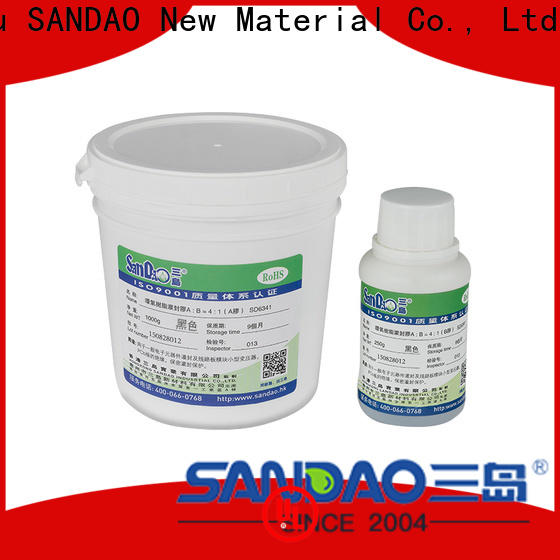 SANDAO flameretardant Two-component addition-type potting adhesive TDS producer for fixing products