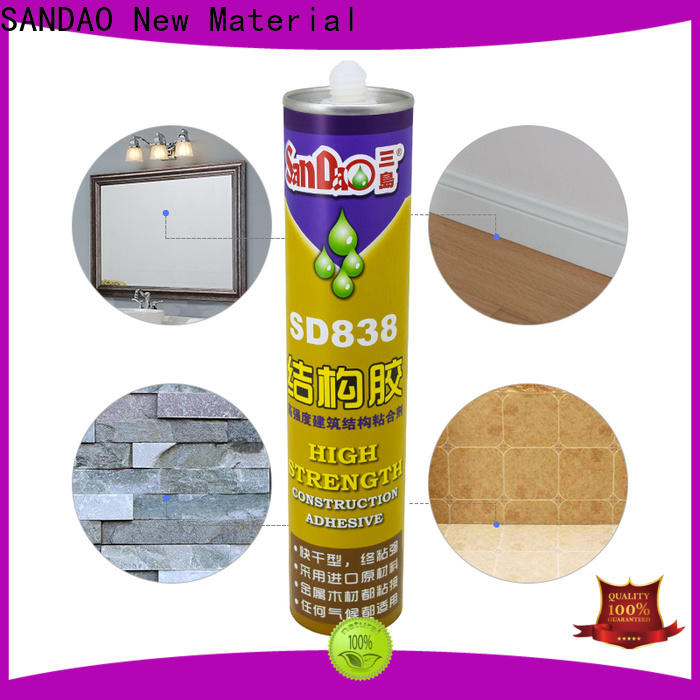 SANDAO reliable ms adhesive with good price for fixing products