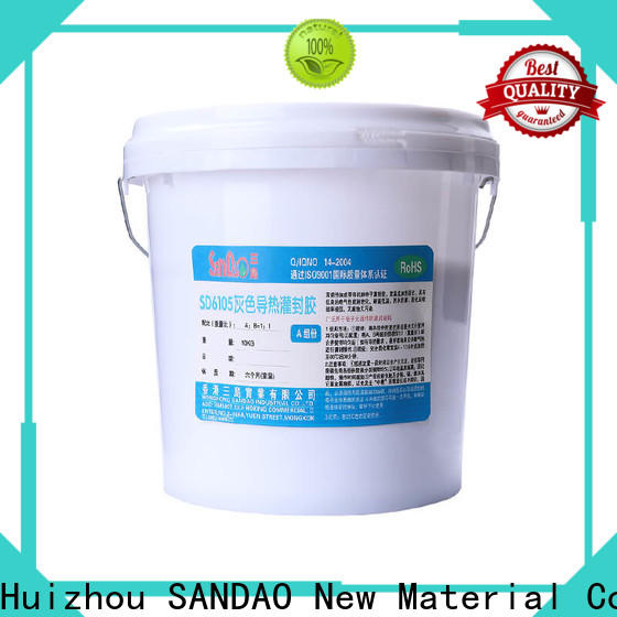 Two-component addition-type potting adhesive TDS silicon factory for glass parts