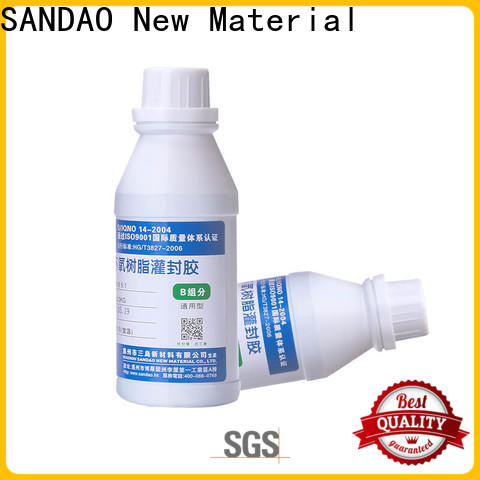 SANDAO epoxy Two-component addition-type potting adhesive TDS certifications for electroplating