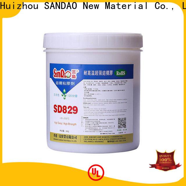 SANDAO adhesive epoxy adhesive free design for heat sink