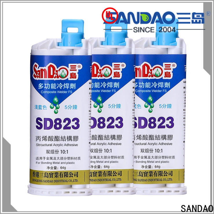 SANDAO structural epoxy ab glue factory price for screws