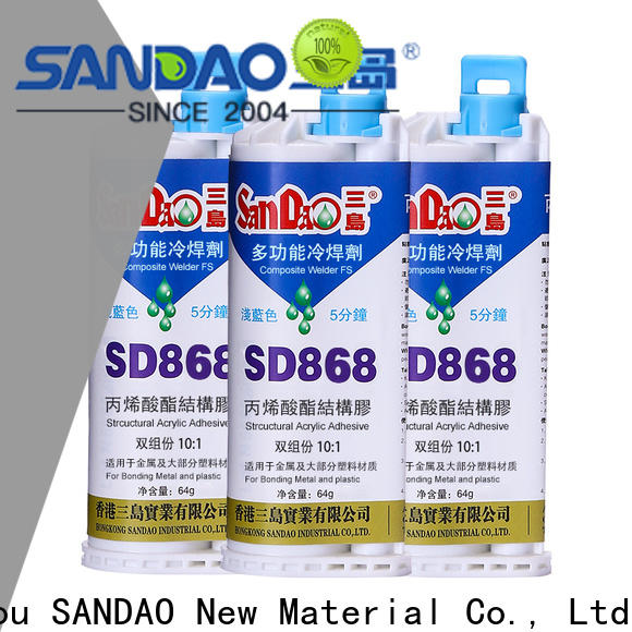 SANDAO parts clear epoxy glue experts for glass parts