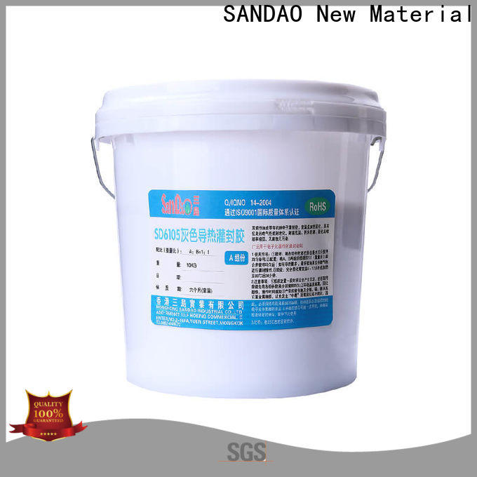 SANDAO high-quality Two-component addition-type potting adhesive TDS widely-use for metalparts