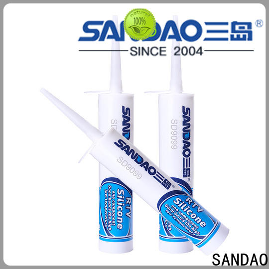 SANDAO gel rtv silicone rubber  manufacturer for electronic products