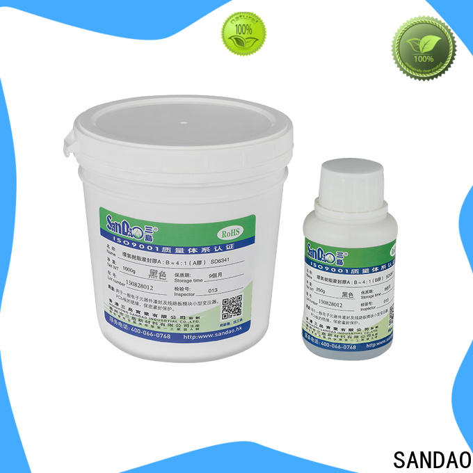 SANDAO potting Two-component addition-type potting adhesive TDS  supply for metalparts