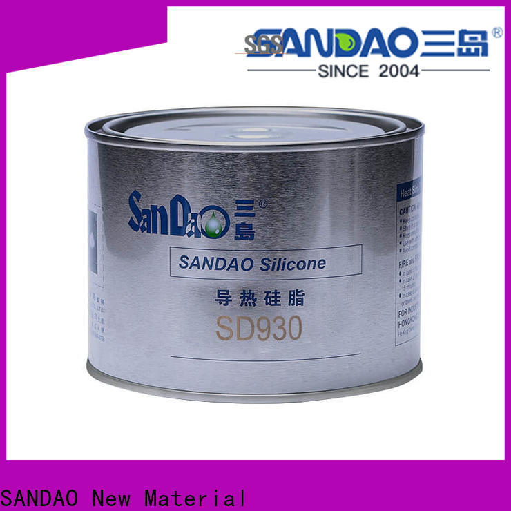 SANDAO heat Thermal conductive material TDS from manufacturer for coffee pot gap filling