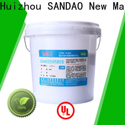 useful Two-component addition-type potting adhesive TDS potting supplier for ceramic parts